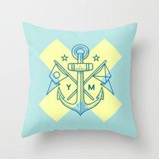 Maritime Love Throw Pillow