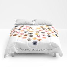 Vulva Heart - The Vulva Gallery Comforters