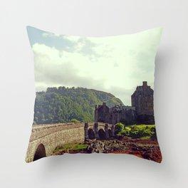 Eilean Donan Castle, Scotland's Highlands - Fine Arts Travel Photography Throw Pillow