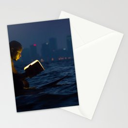 Wave Series Photograph No. 18. - The Strength of Solitude Stationery Cards