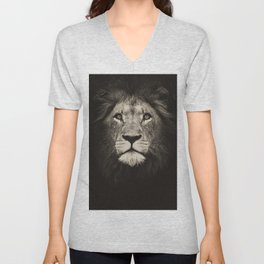 Mr. Lion King Unisex V-Neck