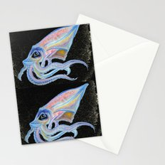 stupid squid Stationery Cards