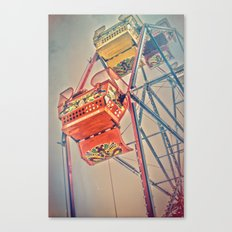 1930's Ferris Wheel Canvas Print