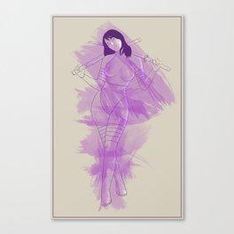 Psylocke Canvas Print