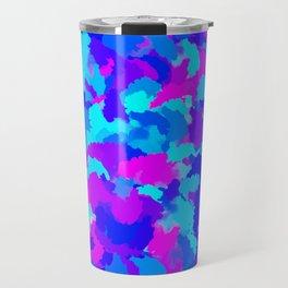 Colorful Modern Abstract Travel Mug