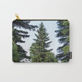 Evergreen Trees so Green Carry-All Pouch