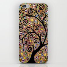 Abstract tree-11 iPhone & iPod Skin