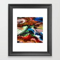 W w w ord Framed Art Print