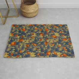 Fall Patterns - Leafy  Rug