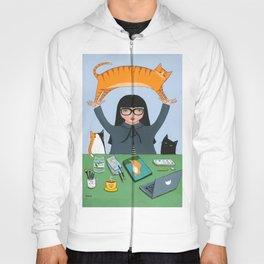 Working With Cats  Hoody