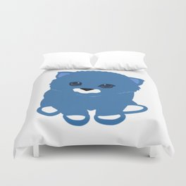 Cat blue Duvet Cover