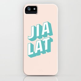JIA LAT iPhone Case