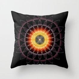 Black Hole Sun2018 Throw Pillow