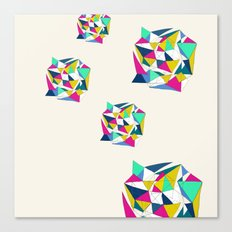 Geometric Worlds Canvas Print