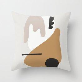 abstract minimal 17 Throw Pillow
