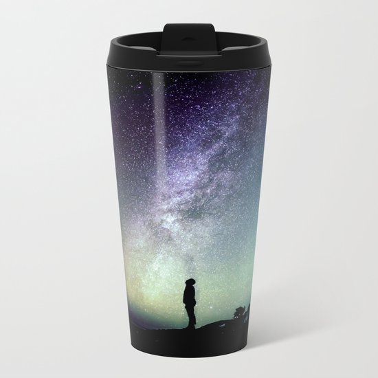 Deep Thoughts Of the Universe Metal Travel Mug