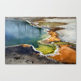 Colors of Yellowstone Canvas Print