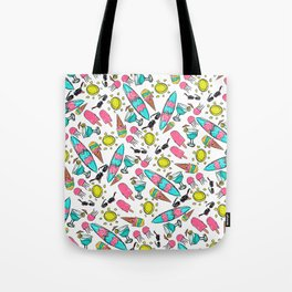 Beach Summer Pattern Tote Bag