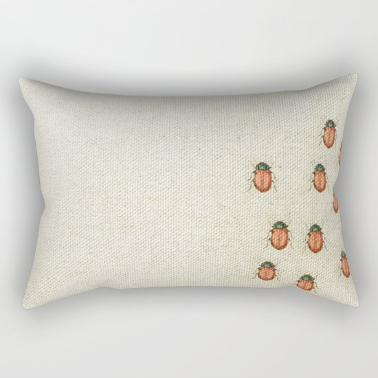 "Coletivo ""Besouros"" Rectangular Pillow"