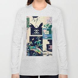 CC No.5 Fashion Collage Long Sleeve T-shirt