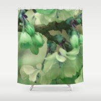 georgia Shower Curtains featuring georgia by EnglishRose23
