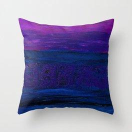 Rough Night At Sea Throw Pillow