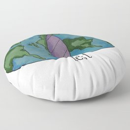 Best of both worlds Floor Pillow