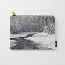 A quiet walk  Carry-All Pouch