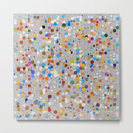 Splash dots Metal Print