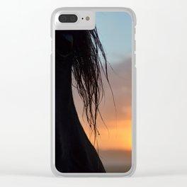 Raja Sunrise Clear iPhone Case