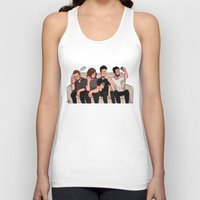 boys Tank Tops featuring boys by skyberia