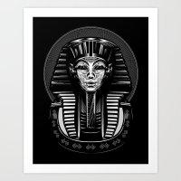 egypt Art Prints featuring Egypt by nicksimon