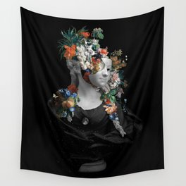 Midnight in Spring Wall Tapestry
