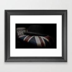 Back to England Framed Art Print