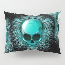 Ghost Skull Pillow Sham