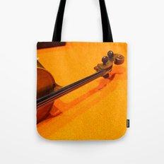 Violin on the Floor Tote Bag