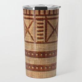 -A24- African Moroccan Traditional Artwork. Travel Mug
