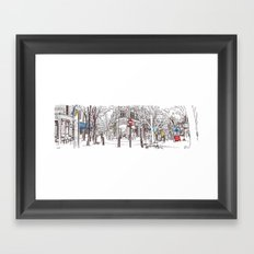 shaftesbury, monmouth and neal, london Framed Art Print