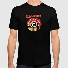 calgery hot stuff T-shirt