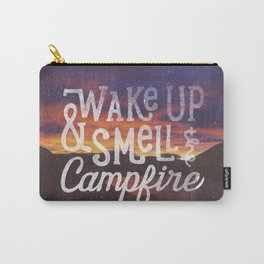 wake up & smell the campfire Carry-All Pouch