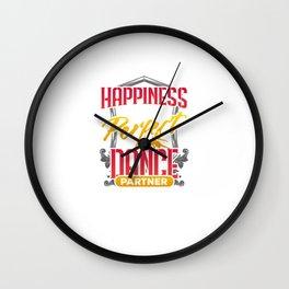Dancer Gift Cute Dancing Wall Clock
