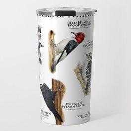 Woodpeckers of North America Travel Mug