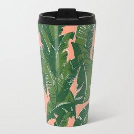 Leaves Bananique in Fresh Salmon Travel Mug