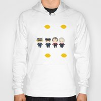 cabin pressure Hoodies featuring Cabin Pressure: The Lemon is With You by Le Bear Polar