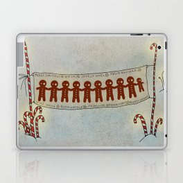 Gingerbread and Christmas Laptop & iPad Skin