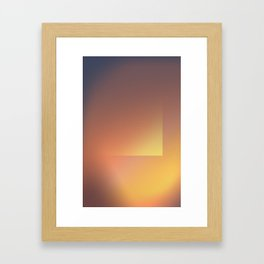 Gradient 2 Framed Art Print