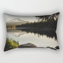 Trillium Mornings Rectangular Pillow