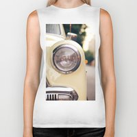 car Biker Tanks featuring The car by Nina's clicks