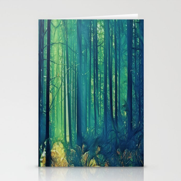 Eyes On The Forest, Not On The Trees. Stationery Cards