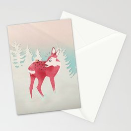 Oh deer, what the bug?! Stationery Cards